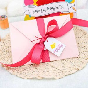 Papertrey Ink Pop-up Envelope Die class=