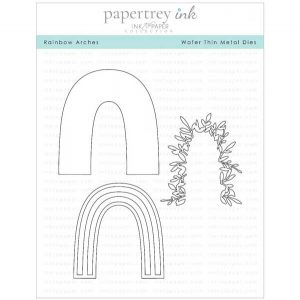 Papertrey Ink Rainbow Arches Die