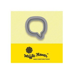 Waffle Flower Tiny Word (Speech) Bubble Die