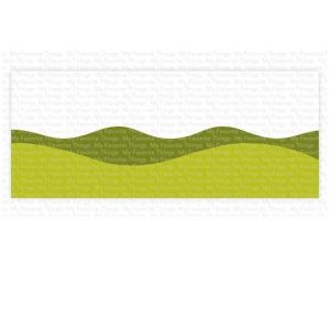 My Favorite Things Slimline Drifts & Hills Stencil class=