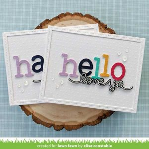 Lawn Fawn Textured Dot Cardstock - Pastels class=