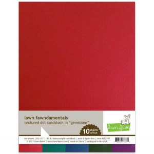 Lawn Fawn Textured Dot Cardstock - Gemstone