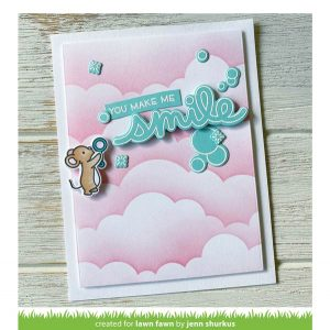 Lawn Fawn Scripty Bubble Sentiments Stamp class=