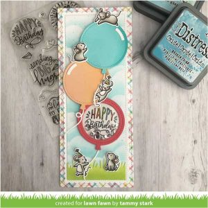 Lawn Fawn Magic Messages Stamp class=