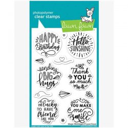 Lawn Fawn Magic Messages Stamp