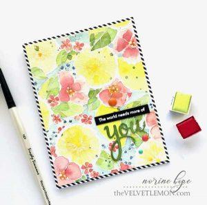 Pinkfresh Studio Lemon Lush Stamp class=