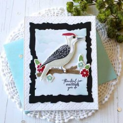 Papertrey Ink Feathered Friends Mini 9 Stamp