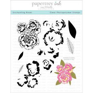 Papertrey Ink Enchanting Roses Stamp