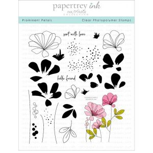Papertrey Ink Prominent Petals Stamp