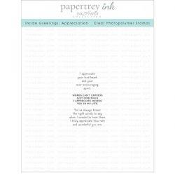 Papertrey Ink Inside Greetings: Appreciation Stamp