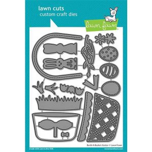 Lawn Fawn Build A Basket: Easter