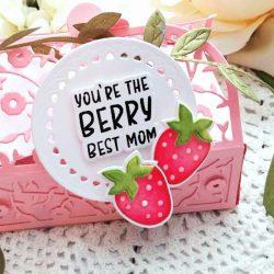 Papertrey Ink Berry Best Mom Die