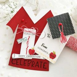Papertrey Ink Go-To Gift Card Holder: Congratulations Graduate! Die