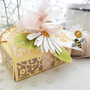 Papertrey Ink Dainty Delivery Box Die class=