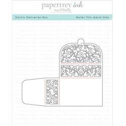 Papertrey Ink Dainty Delivery Box Die