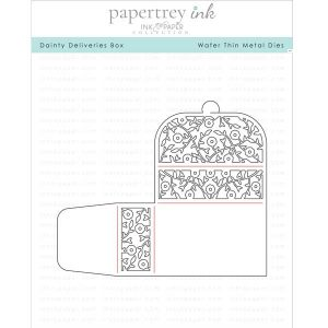 Papertrey Ink Dainty Delivery Box Die