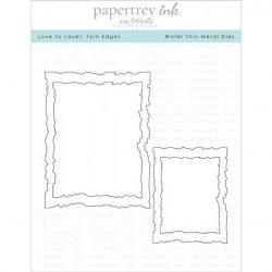 Papertrey Ink Love To Layer: Torn Edges Die