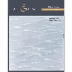 Altenew Ribbon Waves 3D Embossing Folder