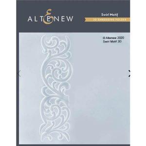 Altenew Swirl Motif 3D Embossing Folder