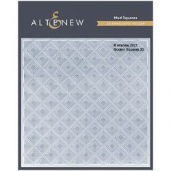Altenew Mod Squares 3D Embossing Folder
