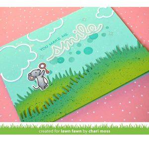 Lawn Fawn Bubbles Stencil class=