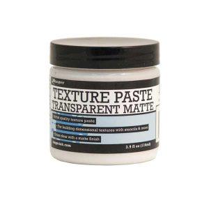 Ranger Transparent Texture Paste - Matte