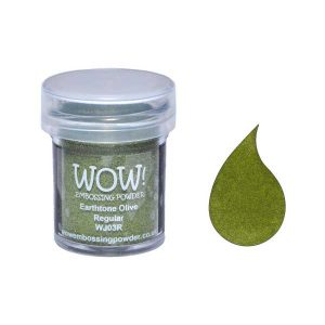 WOW! Earthtone Olive Embossing Powder