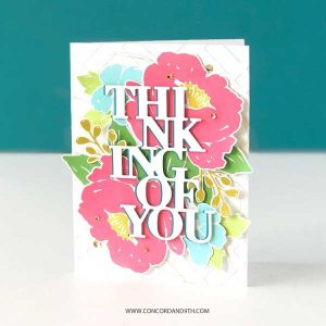 Concord & 9th Painted Peony Stamp Set class=