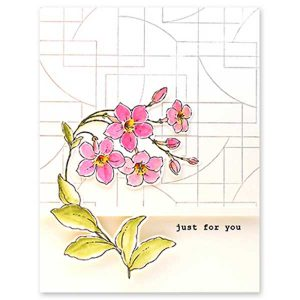 Penny Black Thriving Stamp Set class=