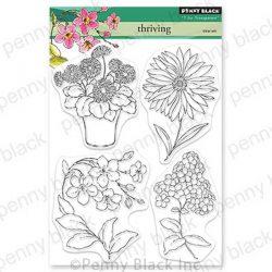 Penny Black Thriving Stamp Set
