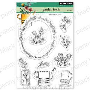 Penny Black Garden Fresh Stamp