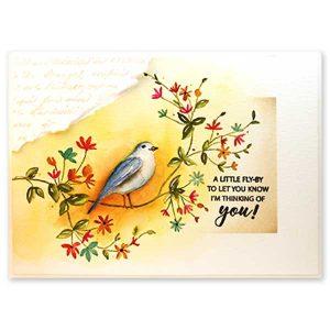 Penny Black Bird's Eye View Stamp class=