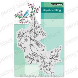 Penny Black Bird's Eye View Stamp
