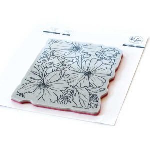 Pinkfresh Studio Floral Focus Stamp