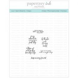 Papertrey Ink Just Sentiments: Steps Mini Stamp