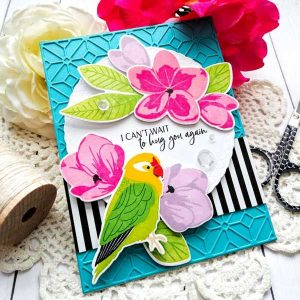 Papertrey Ink Feathered Friends Mini 10 Stamp class=