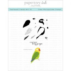 Papertrey Ink Feathered Friends Mini 10 Stamp