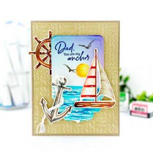Papertrey Ink Seas of Life Stamp class=