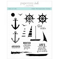 Papertrey Ink Seas of Life Stamp