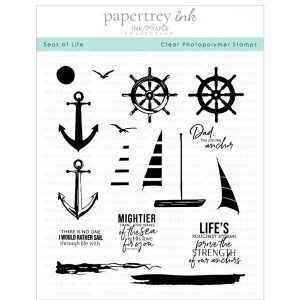 Papertrey Ink Seas of Life Stamp