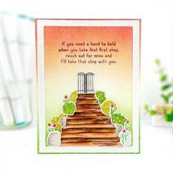 Papertrey Ink Inside Greetings: Steps Stamp