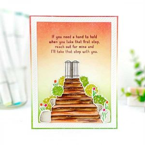 Papertrey Ink Inside Greetings: Steps Stamp class=