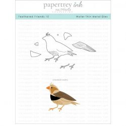 Papertrey Ink Feathered Friends 10 Die