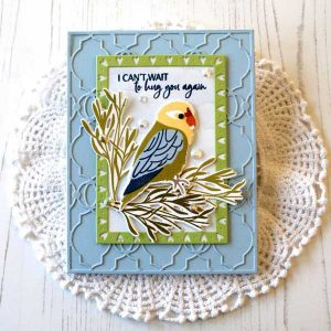Papertrey Ink Feathered Friends Mini 10 Die class=