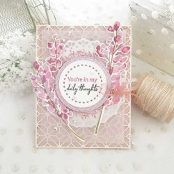 Papertrey Ink Blooming Thoughts Stamp