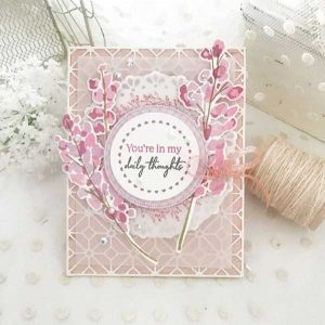 Papertrey Ink Blooming Thoughts Stamp class=