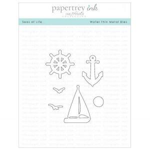 Papertrey Ink Seas of Life Dies