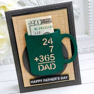 Papertrey Ink To Die For Sentiments: 24x7 Dad Dies class=
