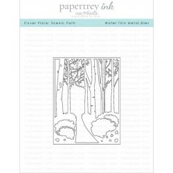 Papertrey Ink Cover Plate: Scenic Path Die