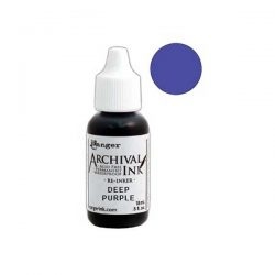 Ranger Archival Ink Pad Reinker - Deep Purple